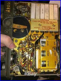 Rt-176 PRC-10 Korean War Era Backback Radio Receiver Military US Signal Corps