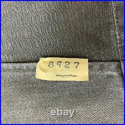 SET OF TWO USMC P53 HBT Herringbone Utility Shirt Korean War Vietnam War Size 34