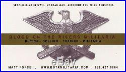 SGM George Yosich 10th Special Forces Group Plaque Korean War UNPIK Veteran