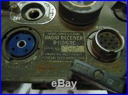 SIGNAL CORPS U. S. ARMY RADIO RECEIVER R-110/GRC BY Federal Korean War 1952