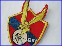 STUNNING USMC Korean War F-3D Fighter Pilot theater VMC-1 SQUADRON PATCH