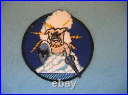 Scarce 1950's Korean War US Navy VC-3 Night Fighters US squadron patch, Mint