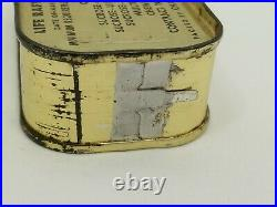 Sealed 1950 Korean War Life Raft Tablet Ration Tin Can with Key Charms Co. N. J. E4
