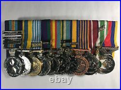 Set of 11 Korea, Pingat Jasa Malaysia, Vietnam, Long Service Medals