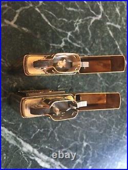 Set of 2 zippo lighters. Korean war memorial. New, Unfired 1996. Solid Brass