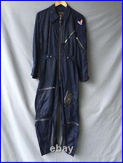 Suit Flying Very Light Korean War K2-A Flight Suit USAF 1950's Flight Coveralls