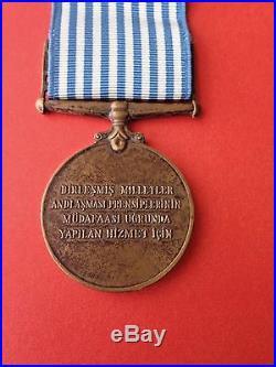 Turkish United Nations Korean War Medal