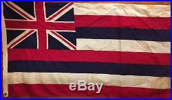 Territorial Flag Of Hawaii, Korean War (us Involvement 1951-53) Gsa Valley Forge