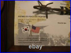 The Wire Fence from DMZ Special Edition Korean War Collectible Framed