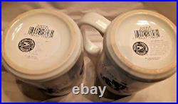 Two Collectible Us Postal Service Mugs Official Product Korean War Commemorative