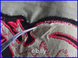 U. S. ARMY KOREA Korean War 8th Army Full Zip Patchwork Jacket 50s