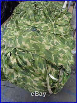 U. S. Air Force Korean War Era 100 G-11A Parachute CAMOUFLAGE