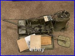 U. S. Army Corps of Engineers Mine Detector C 1954 Korean War / Free S&H