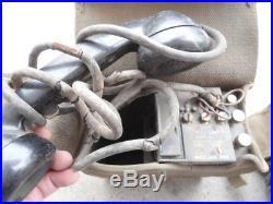 U. S. Army Korean War Era EE-8 Field Phones (lot of 2)