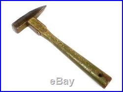 U. S. Army Mountaineer's Piton Hammer, with Strapped-Head, Dated 1950 = Korean War