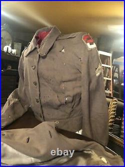 U. S Army Nurse Uniform Korean War 1947-1953 2nd Army Original & Authentic