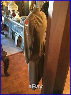 U. S Army Nurses Uniform. 1950/53 Blouse, Skirt. 2nd Army. Korean War. Authentic