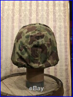 U. S Marine Corp Camouflage Cover Korean War 4/29/1953