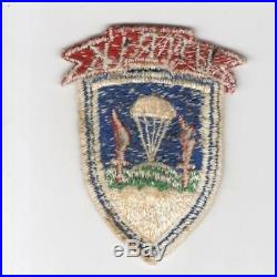UNPIK Korean War United Nations Partisan Infantry Korea Patch Inv# H919