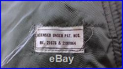 US ARMY Winter Field Trench Coat Overcoat jacket Liner Korean war OLD IRONSIDES