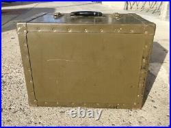 US Army Infared Sniper Scope Wood Box / Crate / Chest Korean War Era