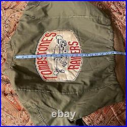 US Army Korean War Era Troop B Tank Corps Jacket Size Large Tombstone's Raiders