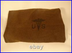 US Army Korean War Era Wool Blanket with Caduceus NEW