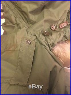 US Army Korean War Military M 1951 Fishtail Parka Shell ...
