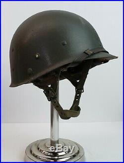 US Army Korean War era M1c Airborne Helmet CAPAC liner (Replica)