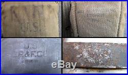 US Army M-1950/51 Korean War era Combat Uniform Jacket / Pants / Hat / More Used