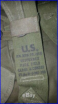 US Army M1945 Field Pack cargo pack ww2 vietnam korean war dead stock very rare