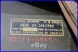 US Army Signal Corp RT176 PRC-10 Korean War Era Radio/Receiver/Transmitter 1952