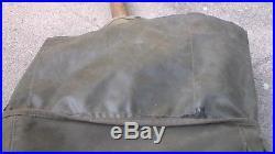 US Army WW2 & Korean War M-1945 Fieldpack Backpack & Belt, Canteen, Shovel, etc