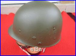 US Army late WWIIKorean War Paratrroper helmet liner