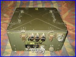 US GI WWII Korean War BC-1335-A Receiver Transmitter SCR-691 Ham Radio BC1335A