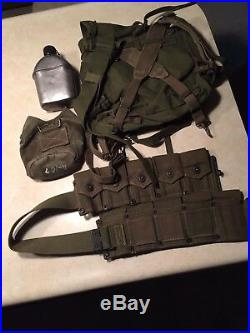 US Korean War Field gear Set
