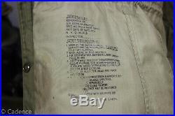 US Korean War M-1951 M-51 M51 Shell Field Jacket 1952 Near Mint Small Reg J131