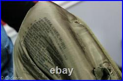 US Korean War M-1951 M51 Fishtail Parka Shell With Liner & Fur Hood NICE! Med J254