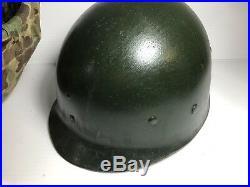 US Korean War USMC Marines Fixed Bale Helmet Cover