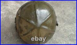 US Korean War USN Navy Fighter Pilot's Flight Helmet Gentexite / Used Condition