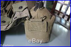 US Korean War Vietnam Combat Pack Shovel Canteens Shelter 1st Aid Carbine Belt