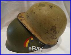 US Korean War Vietnam Era M1 Steel Helmet