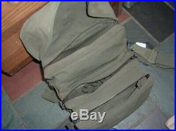US Korean War era Rubberized M-3 Medic Bag dated 1951 & loaded with supplies