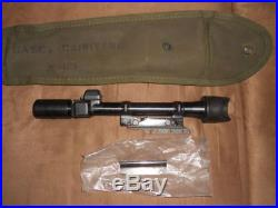 US Korean war M84 Garand M-1C sniper scope Griffin and Howe mount