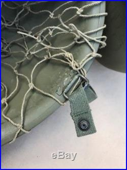 US M1C Paratrooper Helmet Korean War Original Complete A12