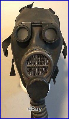 US Military M2-10A1-6 Lightweight Optical Gas Mask -Korean War Sniper /Artillery