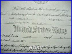 /US NAVY Lot of documents & medals, named, Korean War