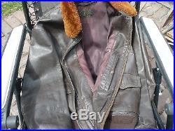 US Navy G-1 Leather Flight Jacket Korean War