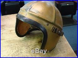 US Navy Gentex H3 Pilots Helmet Med Korean War USN NICE