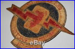 US Navy Patch Set from Korean War-(VF-91&Task Force 77) -G-1/A-2 flight jacket